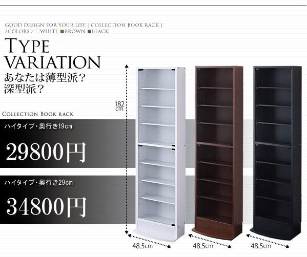 壁面本棚 価格表