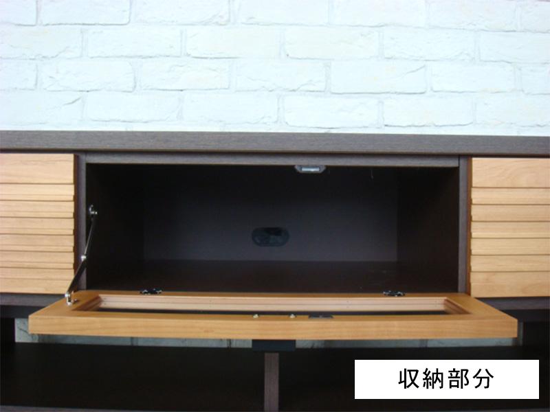 テレビ台収納部分