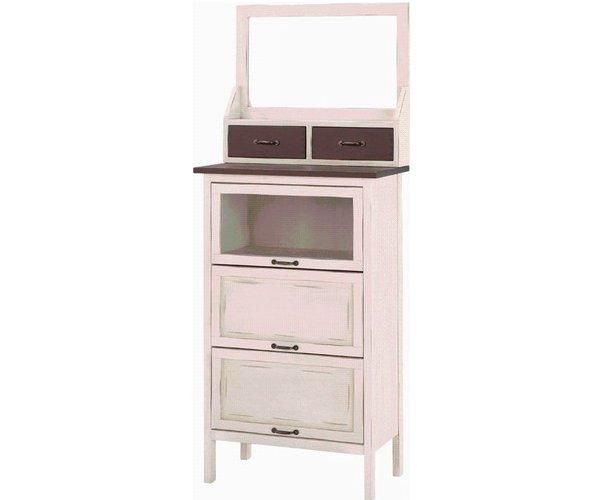 アンティークな雰囲気の家具 卓上 ミラー 使用例