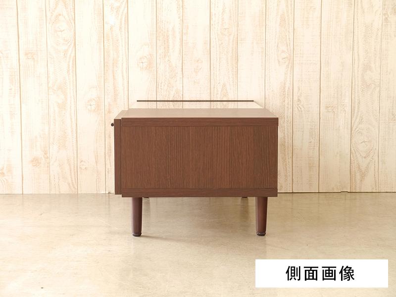リビングテーブル120 側面画像