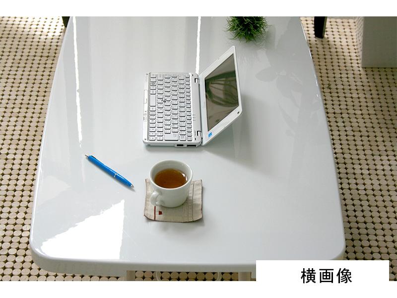 昇降式テーブルホワイト横画像