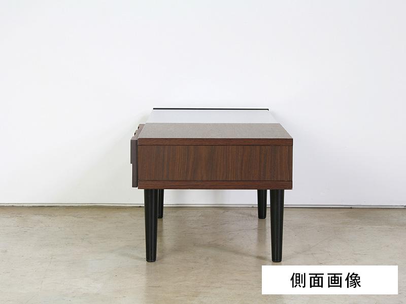 リビングテーブル 側面画像