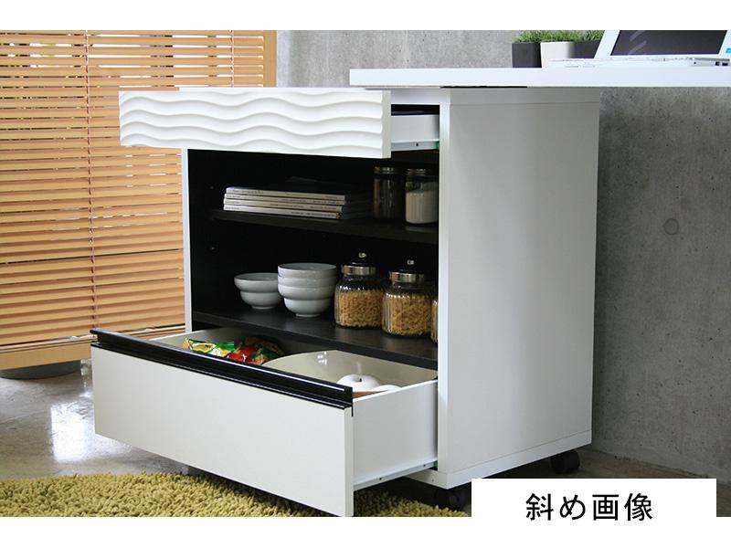キッチンデスク斜め画像