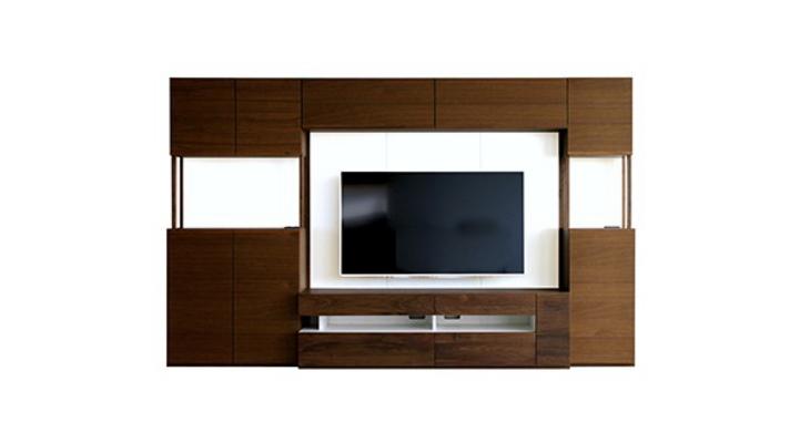 壁面収納 テレビ台セット