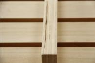 日本製桧すのこベッド 裏面画像2