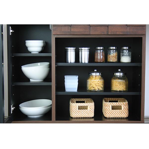 キッチンデスク 収納スペース