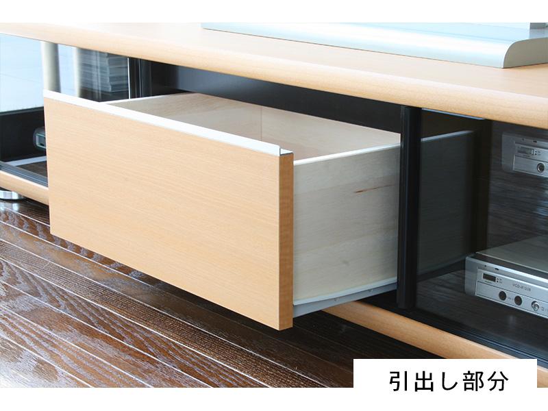 シンプルなデザインのローボード7
